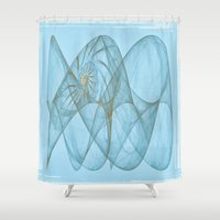 shell Shower Curtains featuring Shell by Susann Mielke