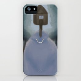 Creepy House / Monster in the Woods iPhone Case