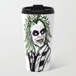 Beetle Juice Travel Mug