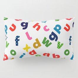 colourful alphabet Pillow Sham