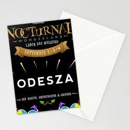 ODESZA NEW CC TOUR DATES 2018 / 2019 GURUN Stationery Cards