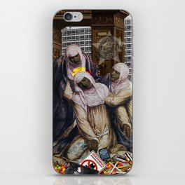 Stigmata & Skittles, Mothers Mourning in the time of BLM (2018, after G. A. Bazzi 1526) iPhone Skin