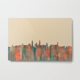 Glasgow, Scotland, UK skyline - Navaho Metal Print