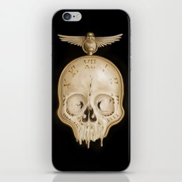 The Consequence of Time iPhone Skin