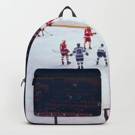 Vintage Hockey Match Backpack