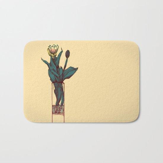 Tulip Vase Bath Mat