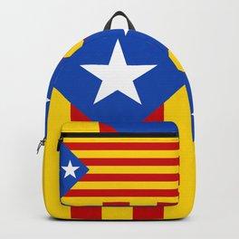 Estelada Blava - Senyeraestelada, HQ Banner version Backpack