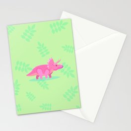 Triceratops, She Always Had an Attitude Stationery Cards