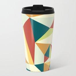Lebanese Geometric Metal Travel Mug
