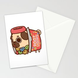 Puglie Poot Loops Stationery Cards