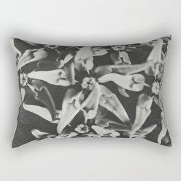 Asclepias speciosa (Showy Milkweed) enlarged 8 times from Urformen der Kunst (1928) by Karl Blossfel Rectangular Pillow