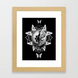 Dark Light Series Framed Art Print
