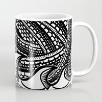 scales Mugs featuring Scales by Ed May