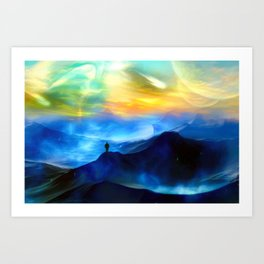 The Only Witness 2 Art Print