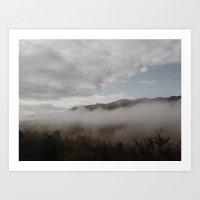 fog Art Prints featuring Fog by Bor Cvetko