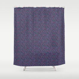 Ultra Violet Leopard Signature Andreiaqua Shower Curtain