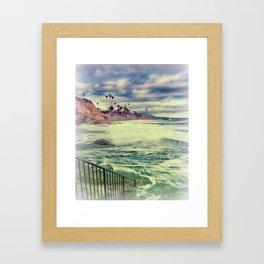 Laguna beauty Framed Art Print