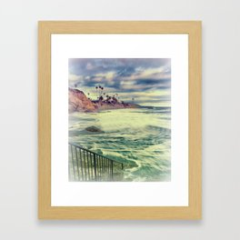 Laguna beauty Framed Art Print