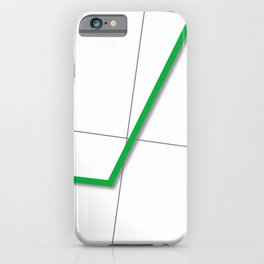 Statistic Up iPhone Case