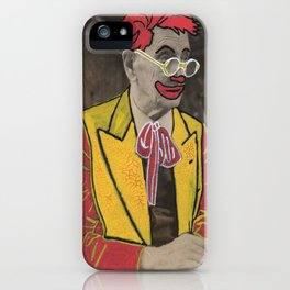Ronald The man behind the makeup iPhone Case
