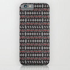 African Tribal Mudcloth Pattern iPhone 6s Slim Case