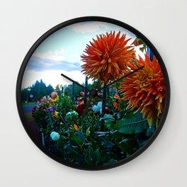 Garden of variety Wall Clock