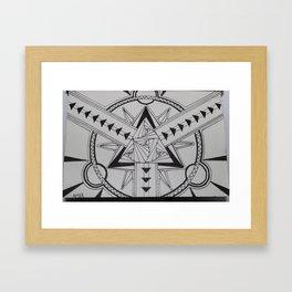 Speed Transmutation  Framed Art Print