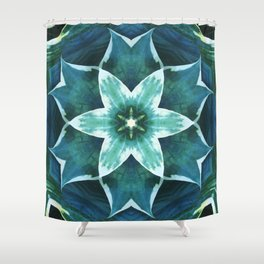 Radiant Earth Shower Curtain