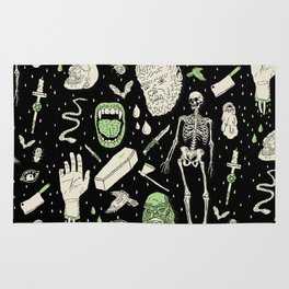 Whole Lotta Horror: BLK ed. Rug