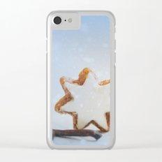 Cinnamon Stars Backery Clear iPhone Case