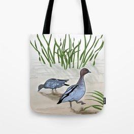 Australian Wood Duck Tote Bag