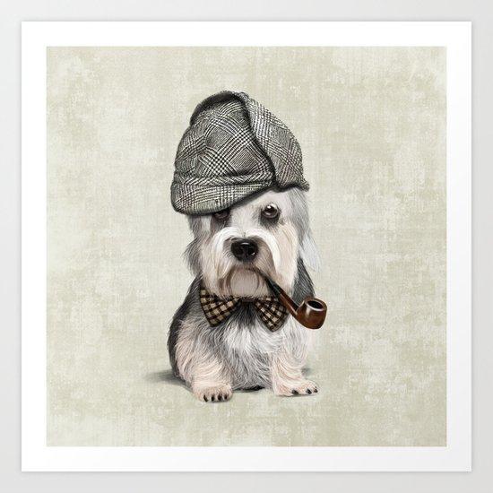Sir Dandie Dinmont Terrier Art Print