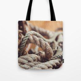 Tangled & Worn Tote Bag