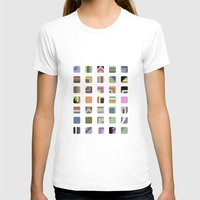 grid T-shirts featuring Grid by Bram Myers