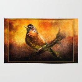 Mama Robin at Sunrise ~ Ginkelmier Inspired Rug