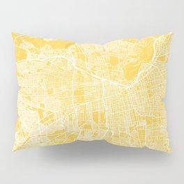 Santiago map yellow Pillow Sham