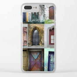 Doors Clear iPhone Case