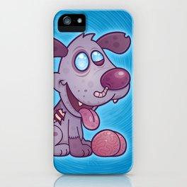Zombie Puppy iPhone Case