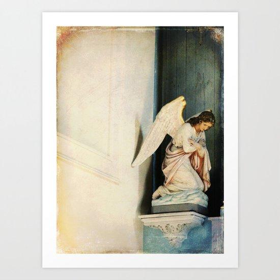 Obeisance Art Print