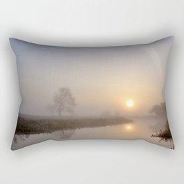 Silence at Sunrise Rectangular Pillow