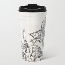 butterfly mandala Travel Mug