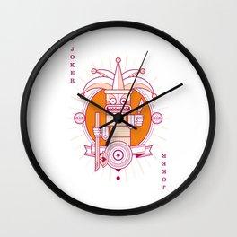 Delirium male Joker Wall Clock
