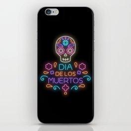 Día de los muertos iPhone Skin