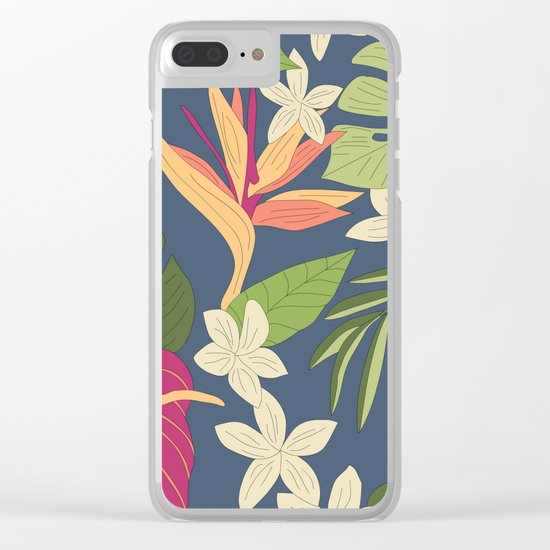 Tiki Clear iPhone Case