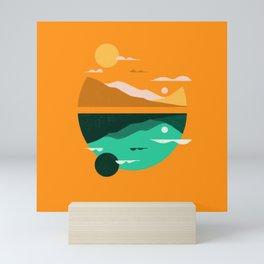 Pencil Scapes 7 Mini Art Print