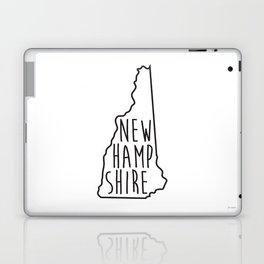 New Hampshire Type Map  Laptop & iPad Skin