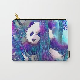 Moonlight Starfall Panda Carry-All Pouch