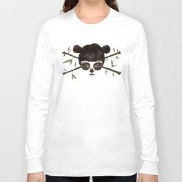 Pirate Panda Long Sleeve T-shirt