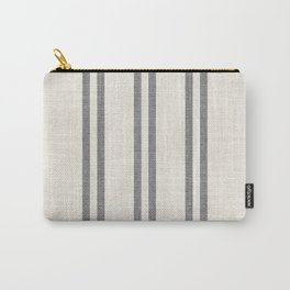 AEGEAN GREY STRIPE Carry-All Pouch