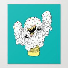 The Ice Cream Man Canvas Print